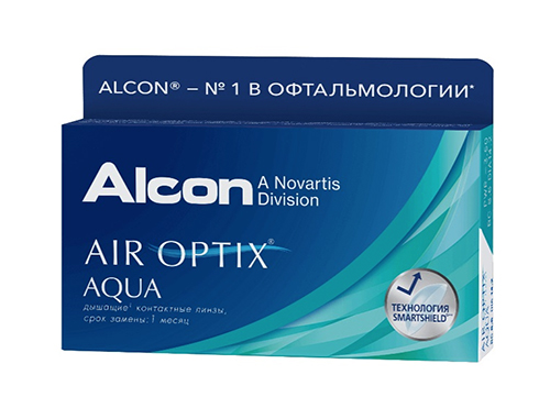 Air Optix Aqua 6 линз
