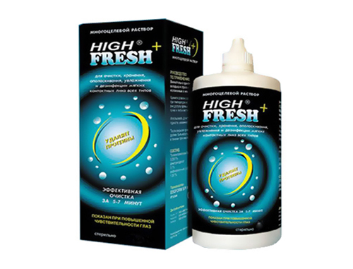 Раствор High Fresh plus 120 мл.